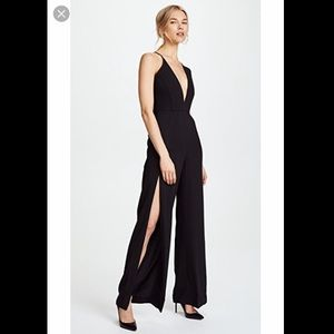 Michelle Mason Palazzo jumpsuit with slit